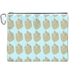 Kukang Animals Canvas Cosmetic Bag (XXXL)