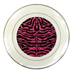 SKN2 BK-PK MARBLE Porcelain Plates