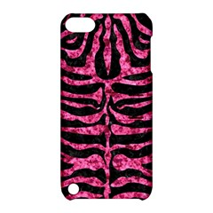 SKN2 BK-PK MARBLE Apple iPod Touch 5 Hardshell Case with Stand