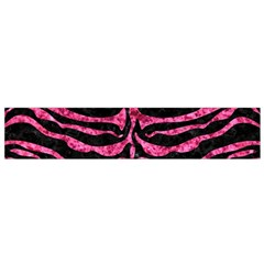 SKN2 BK-PK MARBLE Flano Scarf (Small)