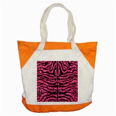 SKN2 BK-PK MARBLE (R) Accent Tote Bag