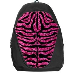 SKN2 BK-PK MARBLE (R) Backpack Bag