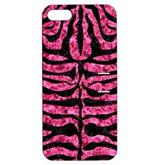 SKN2 BK-PK MARBLE (R) Apple iPhone 5 Hardshell Case with Stand