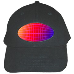Grid Diamonds Figure Abstract Black Cap