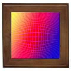 Grid Diamonds Figure Abstract Framed Tiles