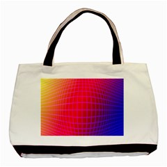 Grid Diamonds Figure Abstract Basic Tote Bag
