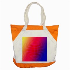 Grid Diamonds Figure Abstract Accent Tote Bag