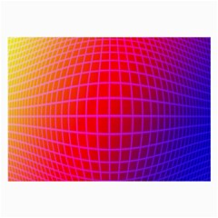 Grid Diamonds Figure Abstract Large Glasses Cloth