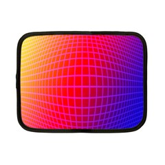 Grid Diamonds Figure Abstract Netbook Case (Small)