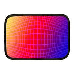 Grid Diamonds Figure Abstract Netbook Case (Medium)