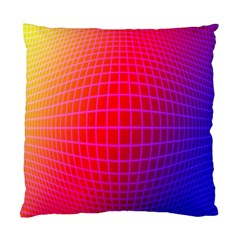 Grid Diamonds Figure Abstract Standard Cushion Case (Two Sides)