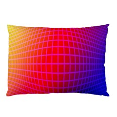 Grid Diamonds Figure Abstract Pillow Case
