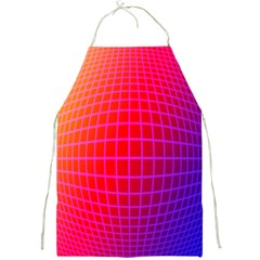 Grid Diamonds Figure Abstract Full Print Aprons