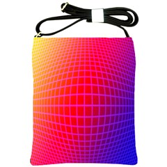 Grid Diamonds Figure Abstract Shoulder Sling Bags