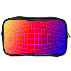 Grid Diamonds Figure Abstract Toiletries Bags