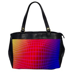 Grid Diamonds Figure Abstract Office Handbags