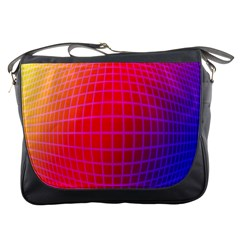 Grid Diamonds Figure Abstract Messenger Bags