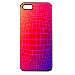 Grid Diamonds Figure Abstract Apple iPhone 5 Seamless Case (Black)