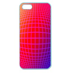 Grid Diamonds Figure Abstract Apple Seamless iPhone 5 Case (Color)