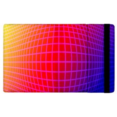 Grid Diamonds Figure Abstract Apple iPad 2 Flip Case