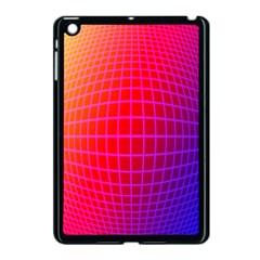 Grid Diamonds Figure Abstract Apple iPad Mini Case (Black)