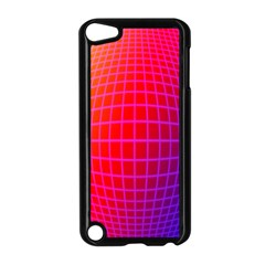 Grid Diamonds Figure Abstract Apple iPod Touch 5 Case (Black)