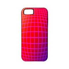 Grid Diamonds Figure Abstract Apple iPhone 5 Classic Hardshell Case (PC+Silicone)
