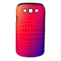 Grid Diamonds Figure Abstract Samsung Galaxy S III Classic Hardshell Case (PC+Silicone)