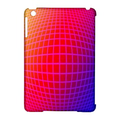 Grid Diamonds Figure Abstract Apple iPad Mini Hardshell Case (Compatible with Smart Cover)