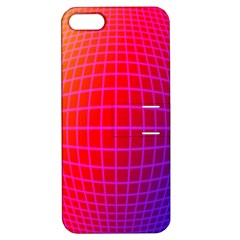 Grid Diamonds Figure Abstract Apple iPhone 5 Hardshell Case with Stand