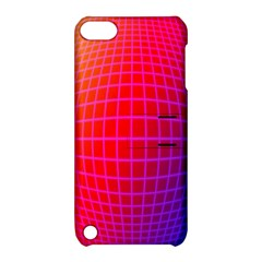 Grid Diamonds Figure Abstract Apple iPod Touch 5 Hardshell Case with Stand