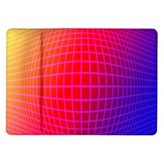 Grid Diamonds Figure Abstract Samsung Galaxy Tab 10.1  P7500 Flip Case