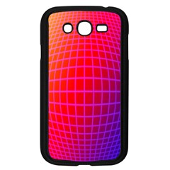 Grid Diamonds Figure Abstract Samsung Galaxy Grand DUOS I9082 Case (Black)