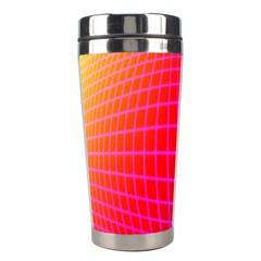 Grid Diamonds Figure Abstract Stainless Steel Travel Tumblers