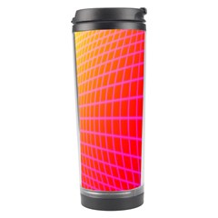 Grid Diamonds Figure Abstract Travel Tumbler