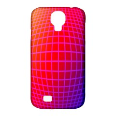 Grid Diamonds Figure Abstract Samsung Galaxy S4 Classic Hardshell Case (PC+Silicone)