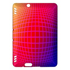 Grid Diamonds Figure Abstract Kindle Fire HDX Hardshell Case