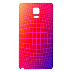 Grid Diamonds Figure Abstract Galaxy Note 4 Back Case