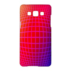 Grid Diamonds Figure Abstract Samsung Galaxy A5 Hardshell Case