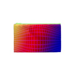 Grid Diamonds Figure Abstract Cosmetic Bag (XS)
