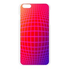 Grid Diamonds Figure Abstract Apple Seamless iPhone 6 Plus/6S Plus Case (Transparent)