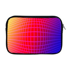 Grid Diamonds Figure Abstract Apple MacBook Pro 17  Zipper Case