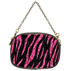 SKN3 BK-PK MARBLE Chain Purses (Two Sides)