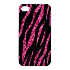 SKN3 BK-PK MARBLE Apple iPhone 4/4S Hardshell Case