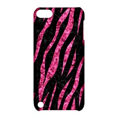 SKN3 BK-PK MARBLE Apple iPod Touch 5 Hardshell Case with Stand