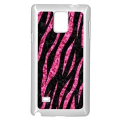 SKN3 BK-PK MARBLE Samsung Galaxy Note 4 Case (White)