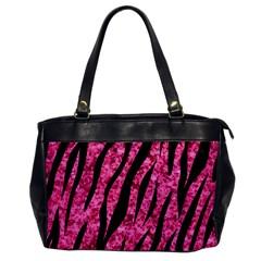 SKN3 BK-PK MARBLE (R) Office Handbags