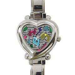 Glasses Cassette Heart Italian Charm Watch