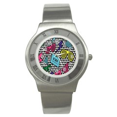 Glasses Cassette Stainless Steel Watch
