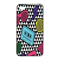 Glasses Cassette Apple iPhone 4/4s Seamless Case (Black)